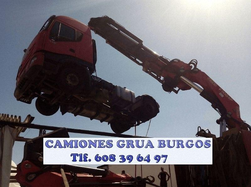 Empresas con camiones gruas en Burgos