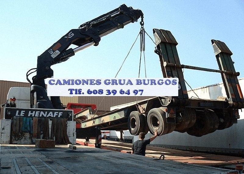 Empresas con grua de carga en Burgos