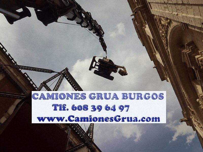 Empresas con servicios de camiones grua en Burgos