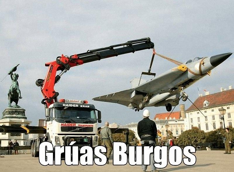 Servicios camiones grua en Burgos