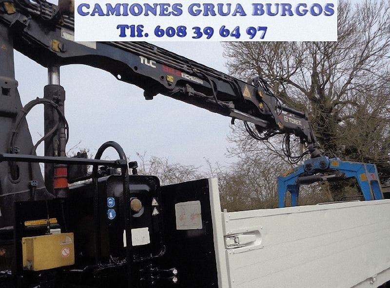 Alquiler de camion grua en Burgos (Burgos)