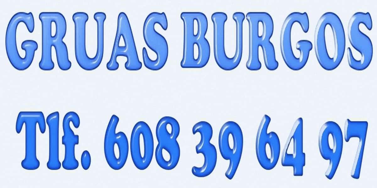 Alquiler de gruas en Burgos con Gruas en Burgos