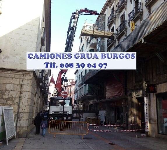 Camiones Grua y servicios Burgos