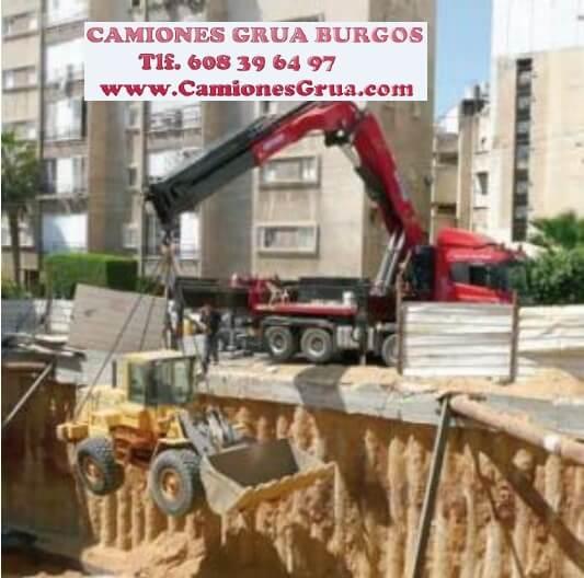 Camiones grua autocargantes Burgos