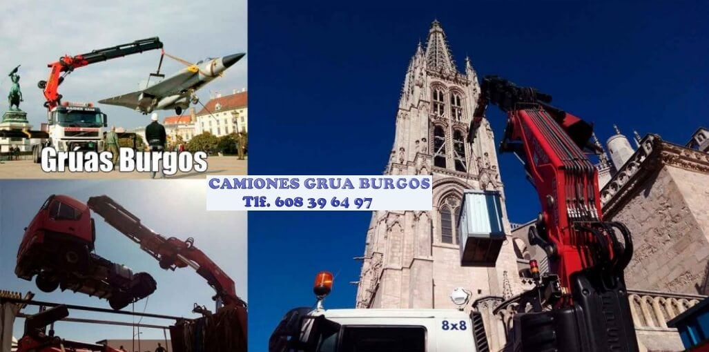 Empresa Camiones grua autocargantes Burgos
