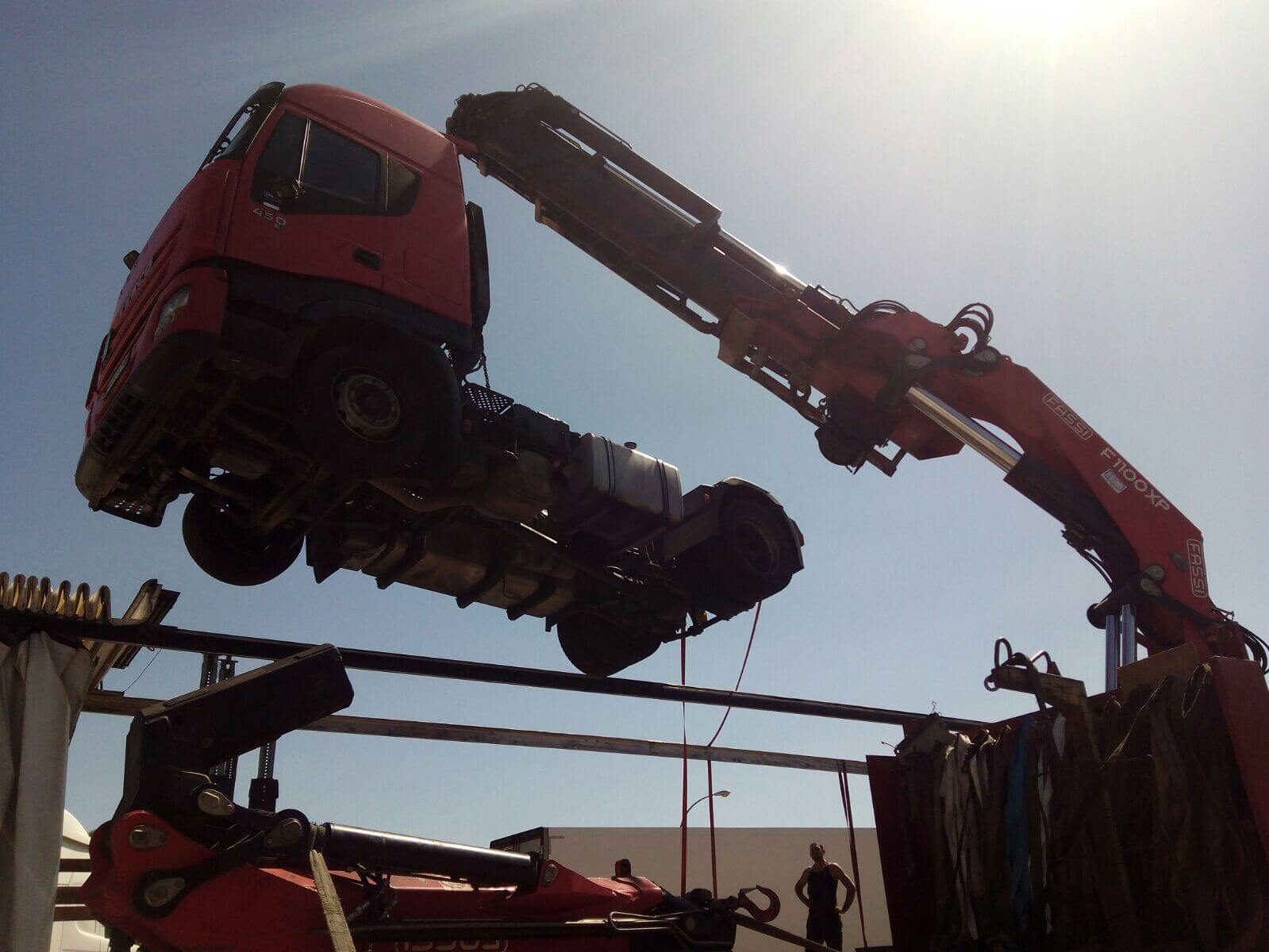 Empresas camiones grua de rescate en Burgos