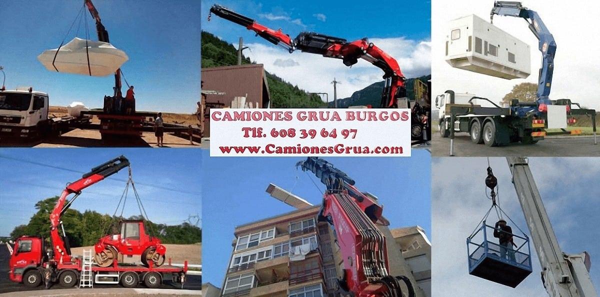 Empresas con camiones grua en Burgos
