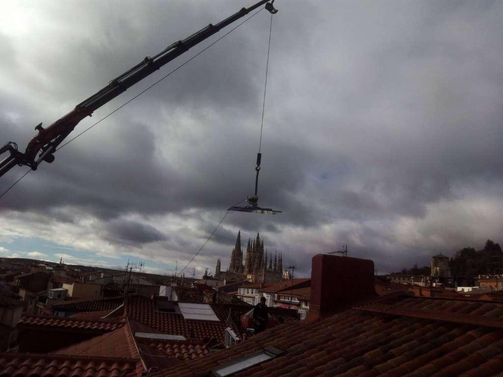 Empresas de Alquiler de gruas en Burgos