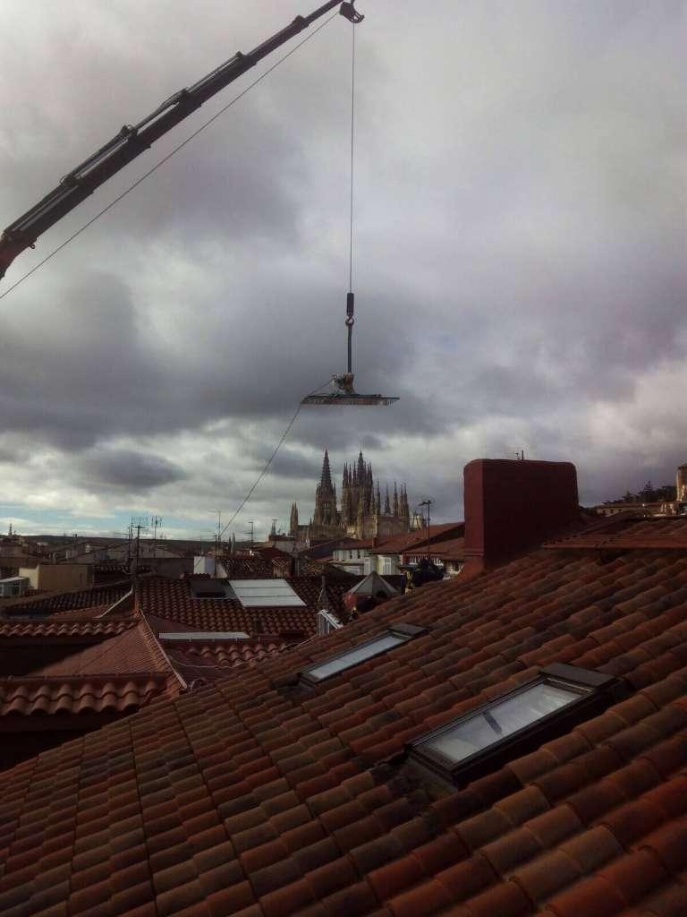 Empresas de alquiler de grua camion en Burgos