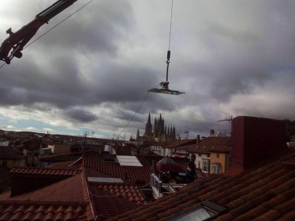 Empresas de alquiler de grua todo terreno en Burgos