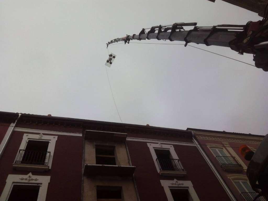 Empresas de alquiler gruas moviles Burgos
