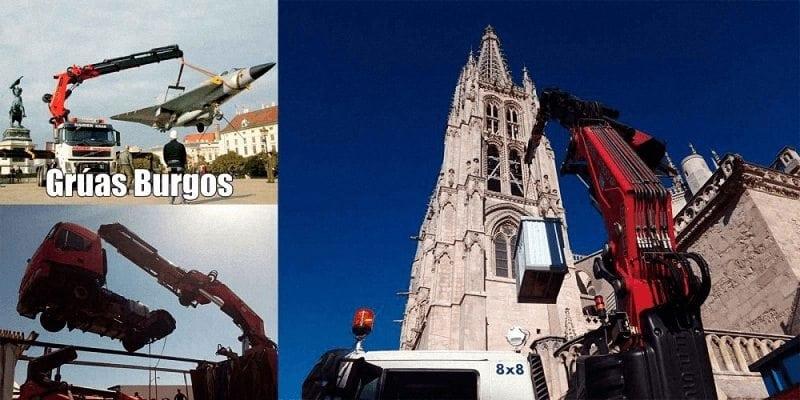 Empresas de gruas en Burgos