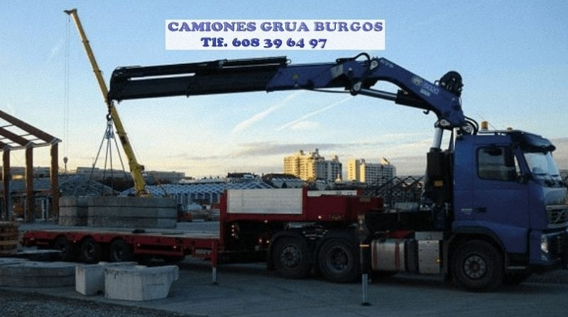 Manipulacion de maquinas pesadas en Burgos