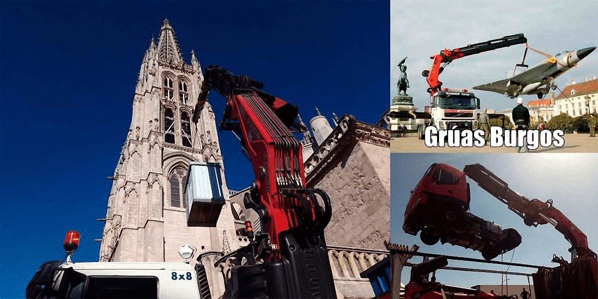 Presupuesto de camiones grua en Burgos