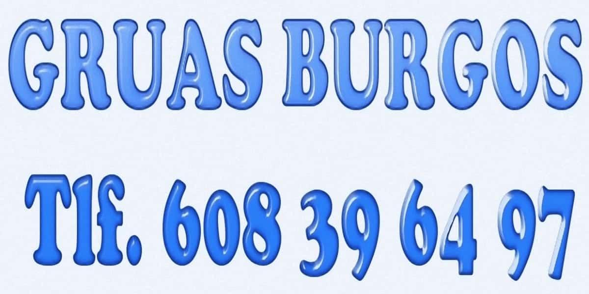 Presupuestos de camiones gruas en Burgos