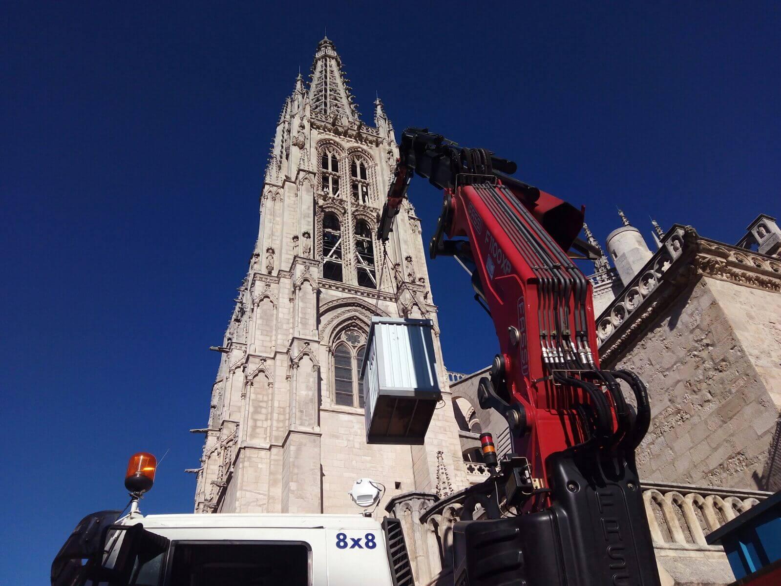 Profesional camiones grua Burgos