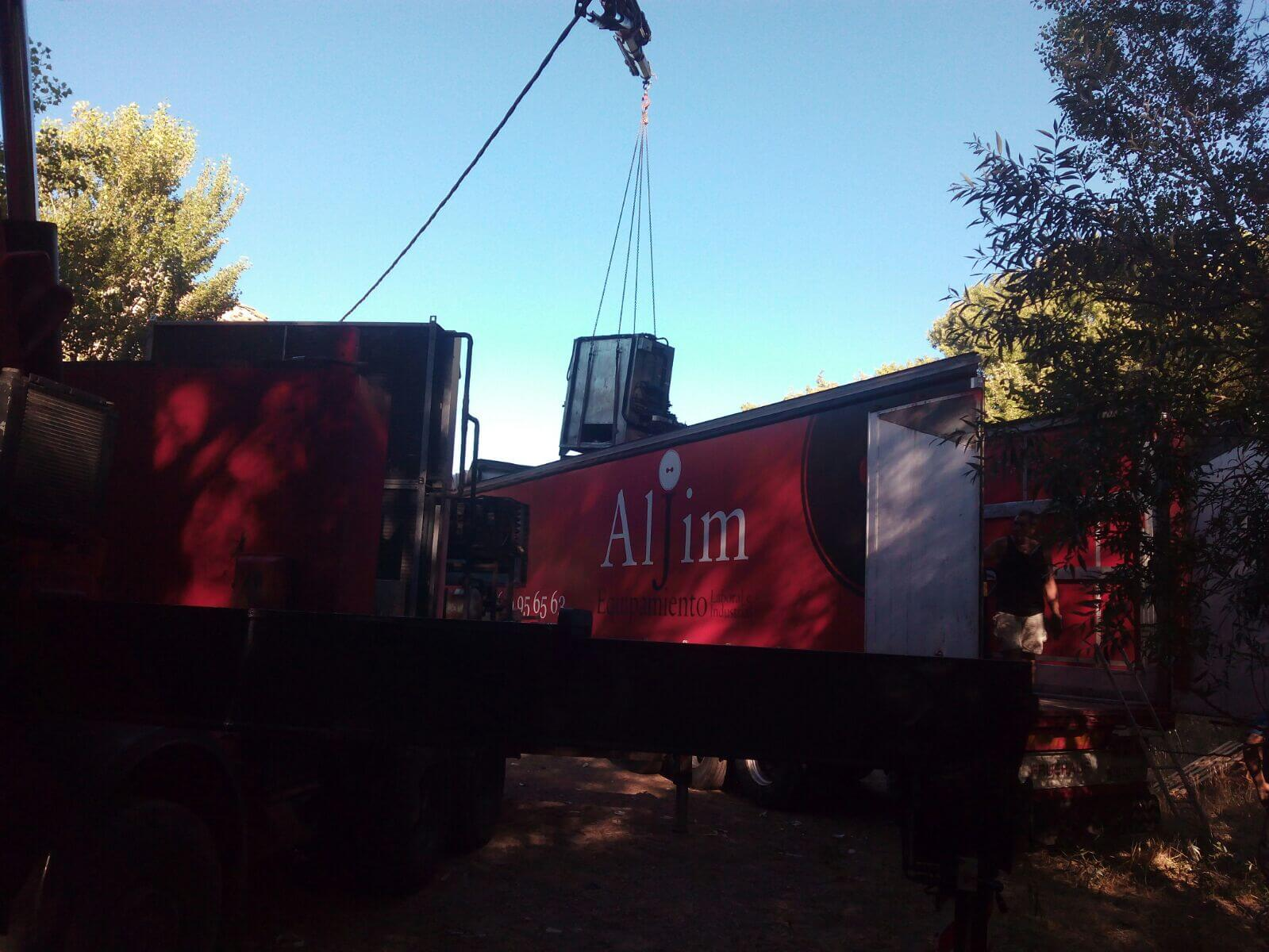 Profesionales de camiones grua en Burgos