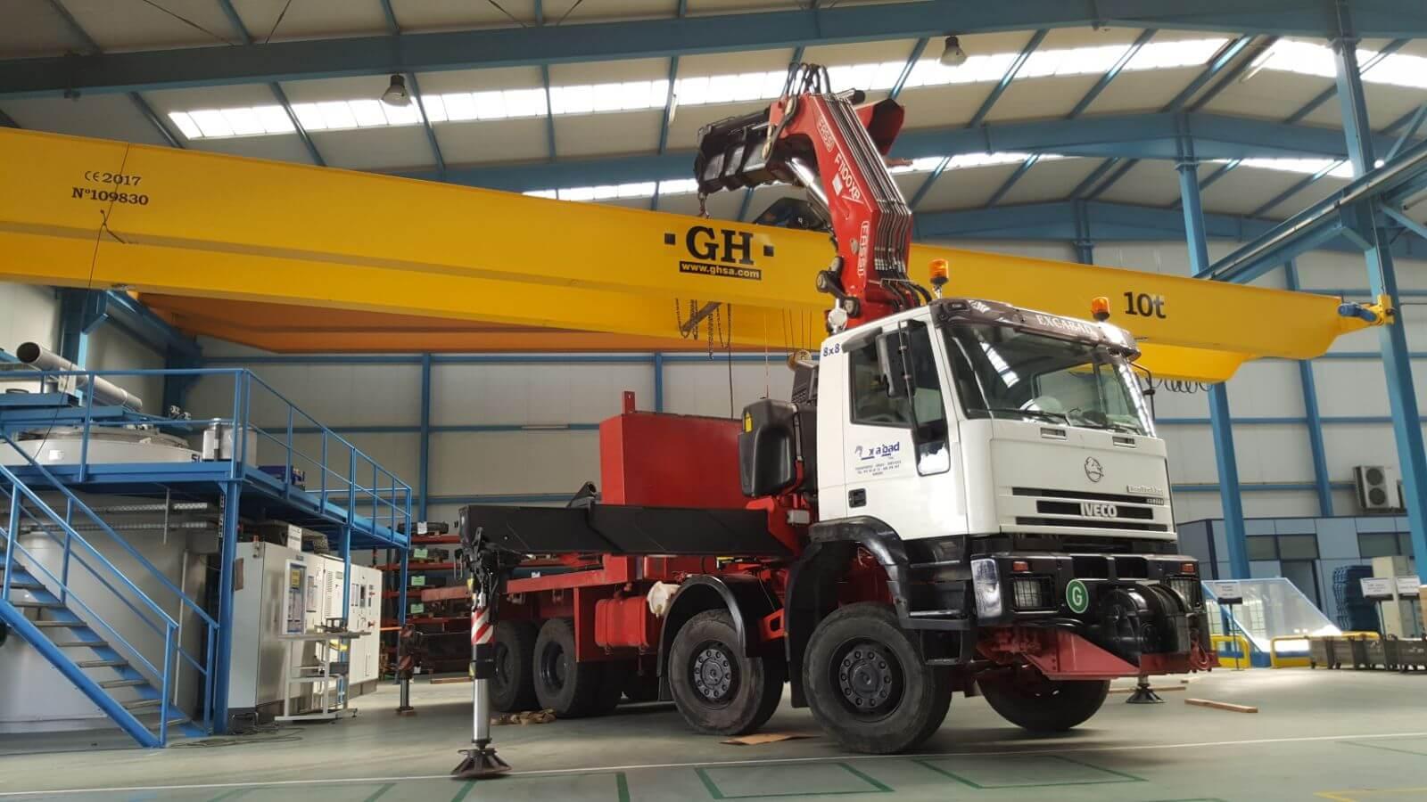 Servicio de camiones grua en Burgos