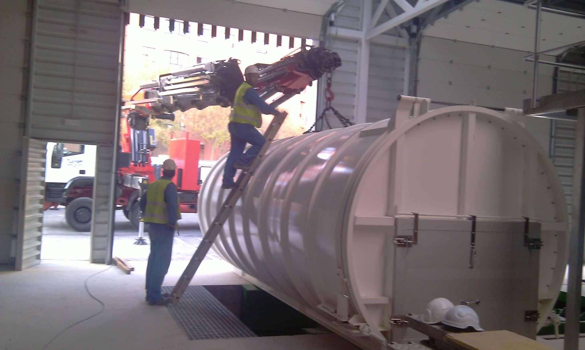 Trabajos de camiones gruas Burgos