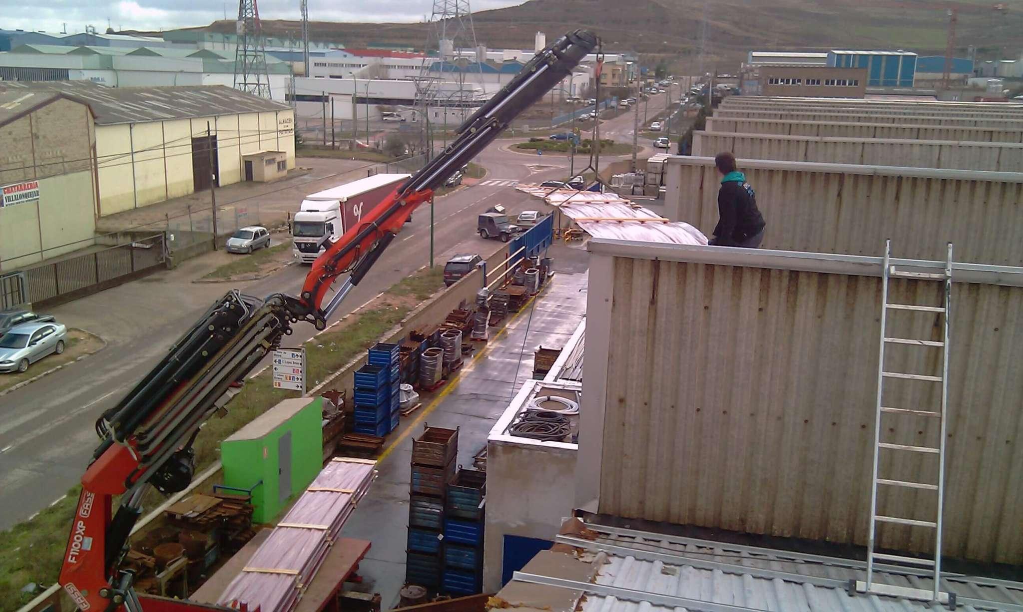 Trabajos empresa camiones gruas Burgos