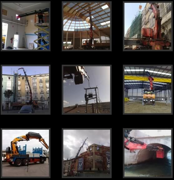 Traslados de maquinaria en Burgos