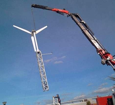gruas para parques eolicos en burgos