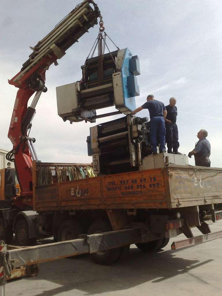 Camiones grúa autocargantes Burgos