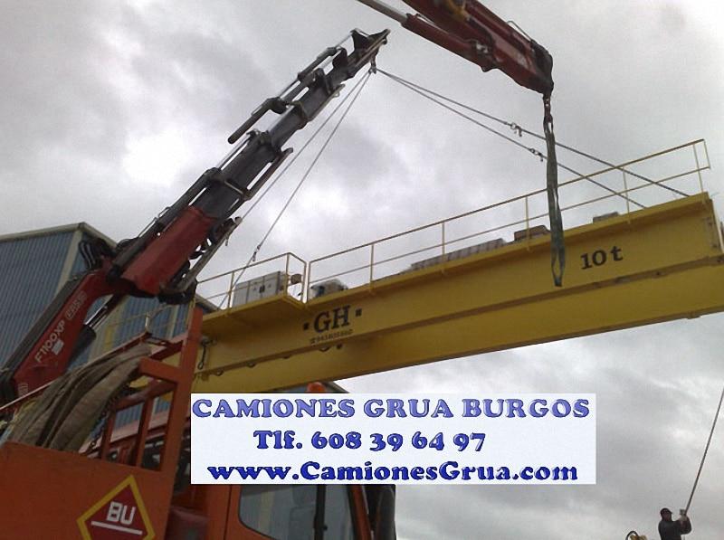 Trabajo montadores de camiones grúa en Burgos